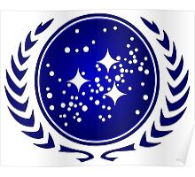 United Federation of Planets Logo Poster