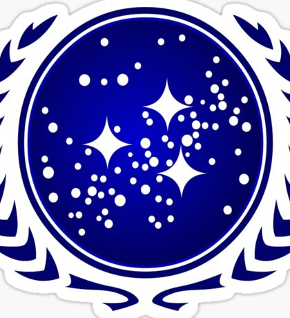 United Federation of Planets Logo Sticker