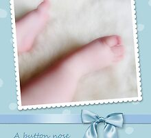 Baby Boy Congratulations, Card Cute Little Toes by NestToNest