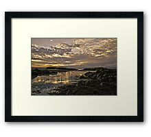 Skerries Sunset Framed Print