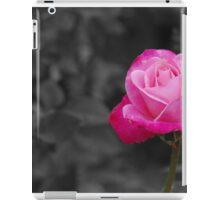 Pink rose sc iPad Case/Skin