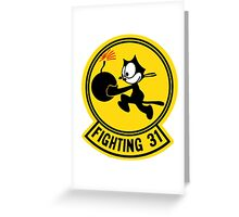 Fighting 31 - Tomcatters Greeting Card