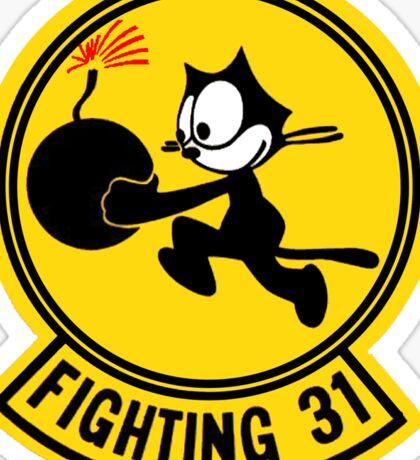 Fighting 31 - Tomcatters Sticker