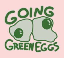 Going Green Eggs One Piece - Long Sleeve