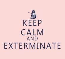 Keep Calm and Exterminate Dalek Kids Tee