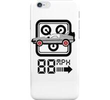 88mph Delorian iPhone Case/Skin
