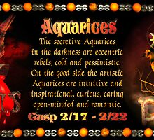 Valxart Aquarius Pisces zodiac Cusp occurs approximately from dates February 16 to February 26 and is ruled by both Neptune and Uranus with the elements of water and air by Valxart