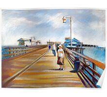 Santa Barbara - Stearns Wharf Poster