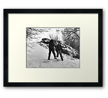 New Year's Jump-a lution~ Framed Print