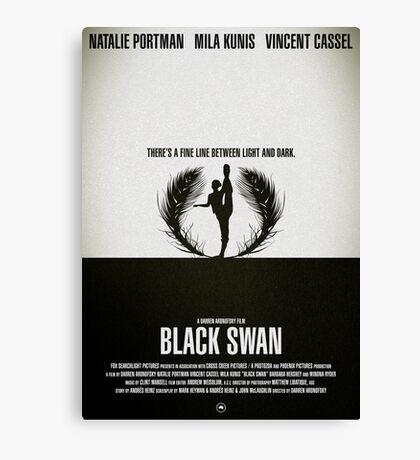 "Movie Poster - ""BLACK SWAN"" Canvas Print"