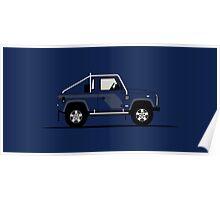 Land Rover Defender 90 Pick Up SVX Poster