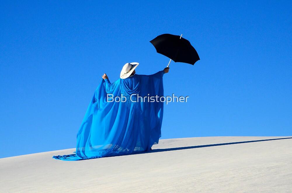 Mystic Blue 1 by Bob Christopher