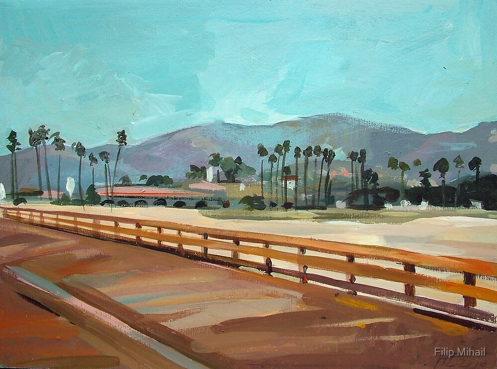 Santa Barbara Pier by Filip Mihail