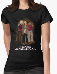 Ten's Angels Womens Fitted T-Shirt