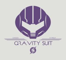 Gravity Suit Tee - Metroid by CuriousityShop