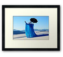 Mystic Blue 3 Framed Print