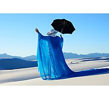 Mystic Blue 3 Photographic Print