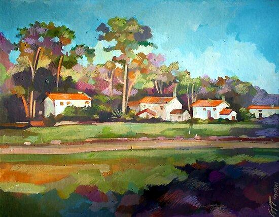 Santa Barbara by painterflipper