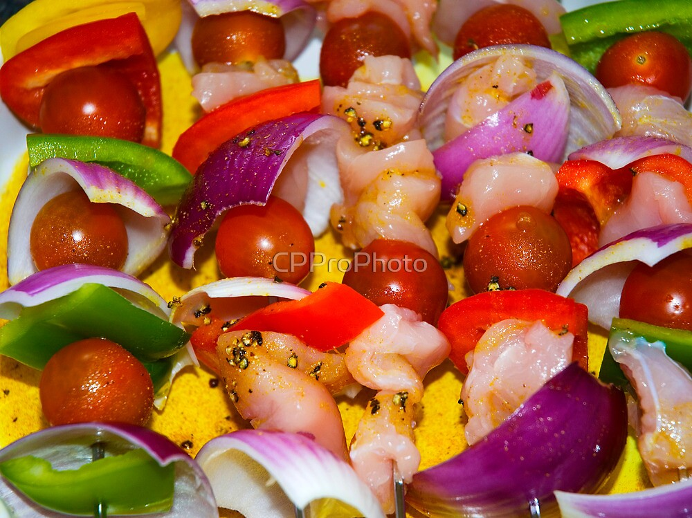 Chicken Kebabs by CPProPhoto