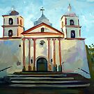 Santa Barbara Mission by Filip Mihail