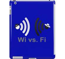 Wi vs. Fi iPad Case/Skin