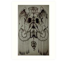 Jackson Lee Van Eagle Art Print