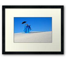 Mystic Blue 4 Framed Print
