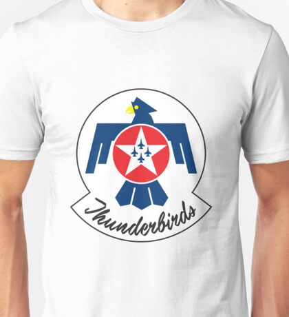Thunderbirds Air Demonstration Team Unisex T-Shirt