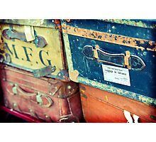 Old Suitcase Photographic Print