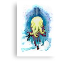 Cthulhu Waits Dreaming Canvas Print