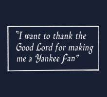 Yankee Fan Kids Clothes