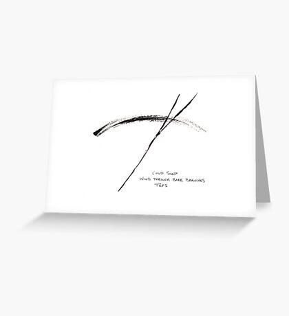 HAIGA XVI  Greeting Card