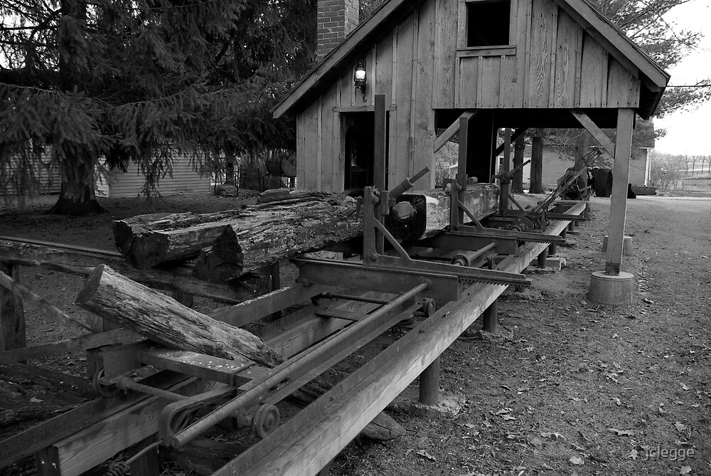 Saw Mill  by jclegge