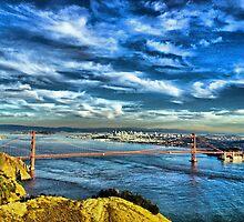 San Francisco from Marin by Alberta Brown Buller