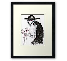 At the Hands of He Framed Print