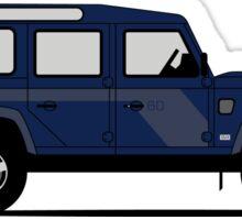 A Graphical Interpretation of the Defender 110 Station Wagon SVX Sticker