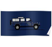 Land Rover Defender 110 Station Wagen SVX Poster