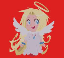 Blond Angel Girl Kids Tee