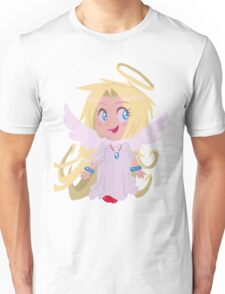 Blond Angel Girl Unisex T-Shirt