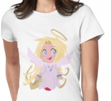 Blond Angel Girl Womens Fitted T-Shirt