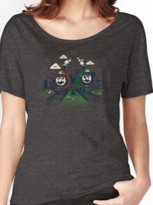Super Train Bros Women's Relaxed Fit T-Shirt