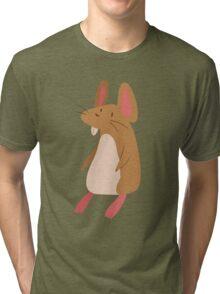Little Brown Mouse Tri-blend T-Shirt
