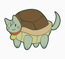 Green Cat Turtle Kids Clothes