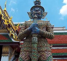 Grand Palace, Bangkok Thailand by DMRPhotos