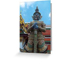 Grand Palace, Bangkok Thailand Greeting Card