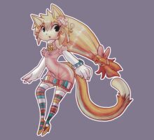 Pretty Blond Cat Girl Kids Clothes