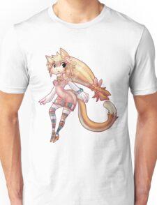 Pretty Blond Cat Girl Unisex T-Shirt