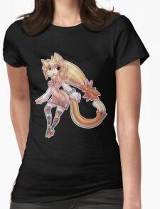 Pretty Blond Cat Girl T-Shirt