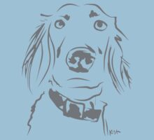 WWWD? Willow, Long Haired Weimaraner : Pattern Kids Clothes