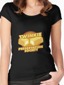 The Twinkie Preservation Society Women's Fitted Scoop T-Shirt